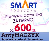 Link do Antyhaczyk: SMART Pożyczka - opinie, pierwsza pożyczka gratis bez BIK...