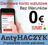 Link do Antyhaczyk: Darmowe konto walutowe bez opłat, w euro - Smart Konto EU Europejskie...